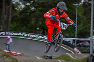 #186 (VAN DER WIJST Koen) NED during round 3 of the 2017 UCI BMX  Supercross World Cup in Zolder, Belgium,