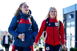 Lucy Graham and Alicia Johnson of Bristol City Women - Mandatory by-line: Robbie Stephenson/JMP - 24/03/2019 - FOOTBALL - Stoke Gifford Stadium - Bristol, England - Bristol City Women v Everton Ladies - FA Women's Super League