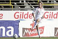 Fotball <br /> Privatlandskamp International U21 U-21 <br /> Landskamp Friendly<br /> 22.08.07 <br /> Melløs Stadion<br /> Norge Norway U21 - Danmark Denmark U21<br /> Timmi Johansen<br /> Foto - Kasper Wikestad