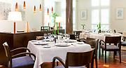 Image de la salle de restaurant de l'Hyppocampe situé dans l'hôtel Le Méridien Nouméa en Nouvelle Calédonie.