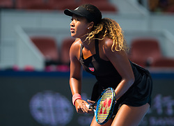 October 5, 2018 - Naomi Osaka of Japan in action during her quarter-final match at the 2018 China Open WTA Premier Mandatory tennis tournament (Credit Image: © AFP7 via ZUMA Wire)