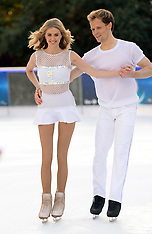 Dancing on Ice Various - Jan 2018