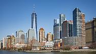 NEW YORK  2020V10<br /> Manhattan från båten till Ellis Island.<br /> <br /> Foto: Per Danielsson/Projekt.P