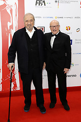 December 10, 2016 - Wroclaw, Lower Silesian, Deutschland - Jean-Claude Carriere and Volker Schlöndorff attend the 29th European Film Awards 2016 at the National Forum of Music on December 10,2016 in Wroclaw, Poland. (Credit Image: © Future-Image via ZUMA Press)