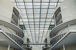 Interior of Paul Lobe Haus government building in Mitte Berlin Germany
