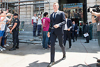 Real Madrid's Toni Kroos leaves Seat of Government in Madrid, May 22, 2017. Spain.<br /> (ALTERPHOTOS/BorjaB.Hojas)