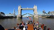 Onboard Paddle Steamer Waverley, River Thames