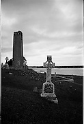 06-10/04/1964.04/06-10/1964.06-10 April 1964.Views on the River Shannon. Clonmacnoise, Co. Offaly.