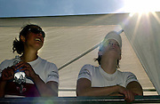 FISA World Cup Rowing Munich Germany..Photo Peter Spurrier 29/05/2004. Finals day..CAN W2- Canadian women's pair Darcy Marquardt and Karen Clark. [Mandatory Credit: Peter Spurrier: Intersport Images].