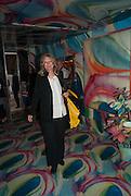 CAREY LOVELACE; , Bloomberg Venice Conversations, Siddhartha Mukherjee, Rirkrit Tiravanija and Tomas Vu Daniel cook lunch for Sarah Sze. Palazzo Peckham. Venice. Venice Bienalle. 31 May 2013