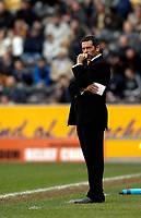 Photo: Jed Wee/Sportsbeat Images.<br /> Hull City v Norwich City. Coca Cola Championship. 06/04/2007.<br /> <br /> A disappointed Hull manager Phil Brown.