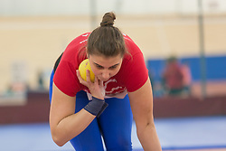 Tjaša Križan competes during day 2 of Slovenian Athletics Indoor Championships 2020, on February 23, 2020 in Novo mesto, Slovenia. Photo by Peter Kastelic / Sportida