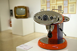 X7 Manual coffee machine, 2005; Macchina per il caffè X7; Illycaffè; Luca Trazzi; Design and Made in Italy, seen from the designer's viewpoint Ron Arad and Paolo Guzzini; Rome, the Museum of the Ara Pacis - Disegno e Design, incontro con Ron Arad e Paolo Guzzini; Roma, Museo dell'Ara Pacis