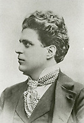 'Pietro Antonio Mascagni (1863-1945) Italian composer. His opera ''Cavallerio rusticana'', 1890, caused a sensation, and introduced the public to the Verismo movement.'