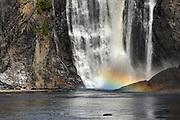chutes montmorency falls, quebec, canada