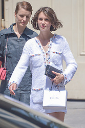 Marine Vacth arriving at the Chanel show during Haute Couture Paris Fashion Week Fall/Winter 2018/19 in Paris, France on July 03, 2018. Photo by Julien Reynaud/APS-Medias/ABACAPRESS.COM