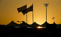November 23, 2017 - Abu Dhabi, United Arab Emirates - Motorsports: FIA Formula One World Championship 2017, Grand Prix of Abu Dhabi, .Yas Marina Circuit, Sunset  (Credit Image: © Hoch Zwei via ZUMA Wire)