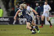 Sale Shark's Faf De Klerk during the Aviva Premiership match between Sale Sharks and Saracens at the AJ Bell Stadium, Eccles, United Kingdom on 16 February 2018. Picture by George Franks.