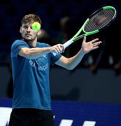 November 15, 2017 - Londres, Grande Bretagne - Great Britain - London - NITTO ATP FINALS 2017- 12/11 - 19/11/2017 -  Belgian player David Goffin (Credit Image: © Panoramic via ZUMA Press)