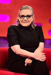 File photo dated 07/12/16 of Carrie Fisher, who has died at age 60, her daughter's publicist said.