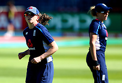 England Women warm up ahead of their Women's World Cup match with South Africa Women - Mandatory by-line: Robbie Stephenson/JMP - 05/07/2017 - CRICKET - County Ground - Bristol, United Kingdom - England Women v South Africa Women - ICC Women's World Cup Group Stage