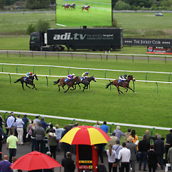 General view during the 5.35 The Merlin Inflatables UK Handicap Stakes - Mandatory by-line: Jack Phillips/JMP - 22/05/2016 - HORSE RACING - Nottingham Racecourse - Nottingham, England - The Nottingham Post Community Day In Association With MacMillan