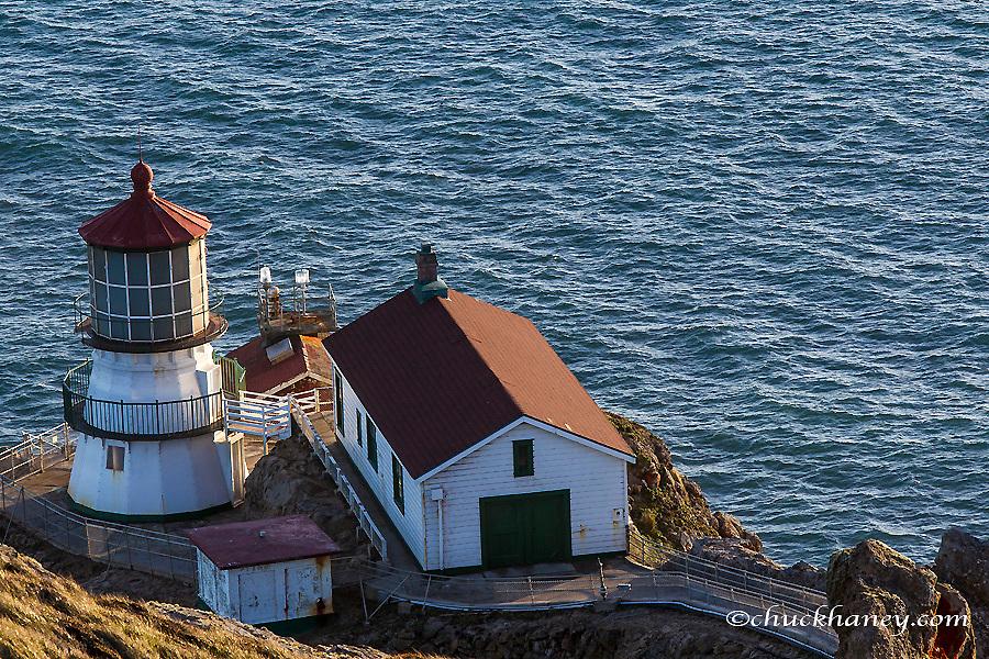 Lighthouse at Point Reyes National Seashore. California, USA