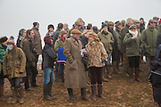 TOM CLAPTON; MRS. GILLY MACINNES; , Heythrop Point to Point. At a  new course at Cocklebarrow near Aldsworth. 11 January 2014