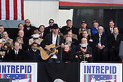 John Rich at The 2008 Veterans Day  Ceremonies at the Intrepid Sea, Air, & Space Musem on November 11, 2008 in NYC