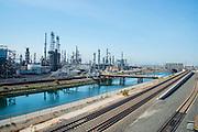 Long Beach Oil Refinery