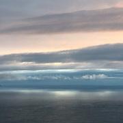 Last light II, Irish sea from the Mull of Kintyre, Argyll & Bute, Scotland.