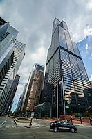 Willis Tower @ Wacker Drive & Adams Street