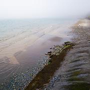 Sea mist on the beach, Ramsey, Isle of Man.