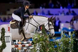 Thijssen Sanne, NED, Celine M Z<br /> Jumping Indoor Maastricht 2016<br /> © Hippo Foto - Dirk Caremans<br /> 12/11/2016