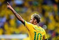 """Conmebol - Copa America CHILE 2015 / <br /> Brazil National Team - Preview Set // <br /> Neymar da Silva Santos Junior """" Neymar """""""
