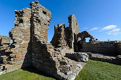 Earl Robert's Palace in Birsay, Orkney Islands.  Built in 1574<br /> <br /> (c) Andrew Wilson | Edinburgh Elite media