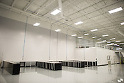 December 11, 2015: Haas F1 team factory
