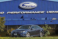 2009 Ford Performance Vehicles FPV F6E - Sensation Blue.FPV Headquarters, Campbelfield, Victoria.29th September 2009.(C) Joel Strickland Photographics.Use information: This image is intended for Editorial use only (e.g. news or commentary, print or electronic). Any commercial or promotional use requires additional clearance.