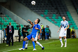during football match between National Teams of Slovenia and Greece in UEFA Nations League 2020, on September 3, 2020 in SRC Stozice, Ljubljana, Slovenia. Photo by Grega Valancic / Sportida