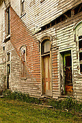 Northcentral Pennsylvania, Abandoned Building. Mainesburg,  Tioga Co., PA