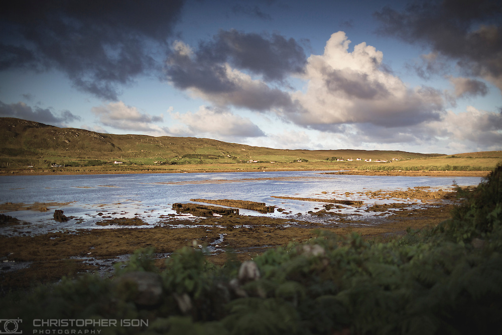 A brief, summer romance with Connemara on the west coast of Ireland. Abandoned mussel beds.<br /> Picture date: Friday August 26, 2016.<br /> Photograph by Christopher Ison ©<br /> 07544044177<br /> chris@christopherison.com<br /> www.christopherison.com