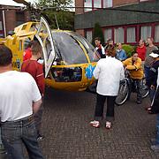 Ongeval Zuiderzee - Bestevear Huizen, traumaheli en piloot