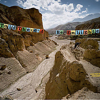 Bicycling magazine, Upper Mustang feature 2011.