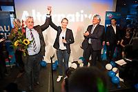DEU, Deutschland, Germany, Berlin, 24.09.2017: Wahlparty der Partei Alternative für Deutschland (AfD) am Alexanderplatz. Die AfD wird zukünftig im Deutschen Bundestag vertreten sein.