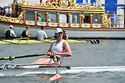 Henley on Thames. United Kingdom.  GBR W1X. Debbie FLOOD.  2013 Henley Royal Regatta, Henley Reach.  Friday  05/07/2013  [Mandatory Credit Peter Spurrier/ Intersport Images]