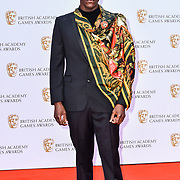 Abubakar Salim Arrivers at the British Academy (BAFTA) Games Awards at Queen Elizabeth Hall, Southbank Centre  on 4 March 2019, London, UK.
