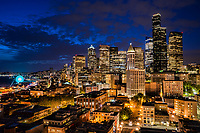 Downtown Seattle / Spring Evening