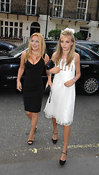 Left to right, GERI HALLIWELL and Sister of the bride CARA DELEVINGNE at the wedding of Chloe Delevingne to Louis Buckworth at St.Paul's Knightsbridge, London on 7th September 2007.<br /> <br /> NON EXCLUSIVE - WORLD RIGHTS
