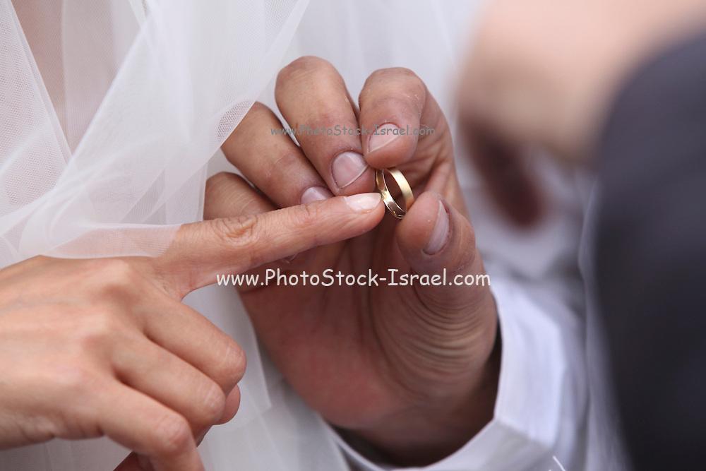 Jewish Wedding the wedding ring