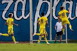 Players of Kazahstan during football match between Slovenia and Kazahstan in Qualifying round for European Under-21 Championship 2019, on September 11, 2018 in Mestni Stadium Ptuj, Slovenija, 2018. Photo Grega Valancic